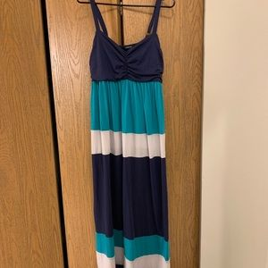 Torrid Striped Maxi Dress